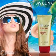 BB Cream UV Sun Block SPF50+ PA+++ [3W CLINIC]