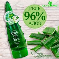 Aloe Vera Cool Water Soothing 96% [Olive Farm]