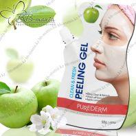 Clean & Fresh Peeling Gel APPLE [Purederm]