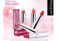 Glittering Shiny Lipstick [Privia]