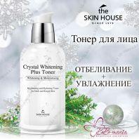 Crystal Whitening Plus Toner [The Skin House]