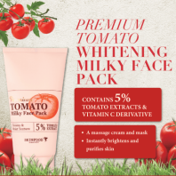 Premium Tomato Milky Face Pack [SkinFood]
