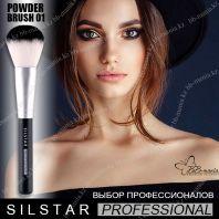 Silstar Professional Powder Brush 01 [JH Corporation]
