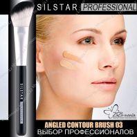 Silstar Professional Angled Countour Brush 03 [JH Corporation]